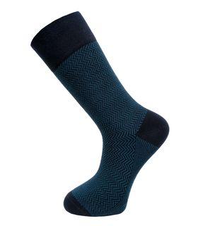 Бирюзовые утепленные мужские носки