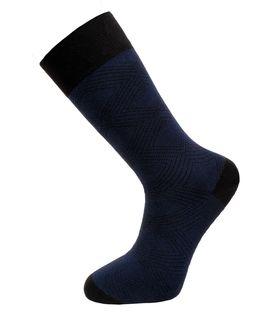 Темно-синие утепленные мужские носки