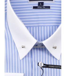 Мужская рубашка под запонку